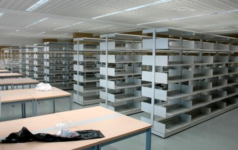 La planta -1 de la biblioteca, el 3 de setembre de 2006