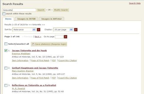 Llista de resultats de cerca