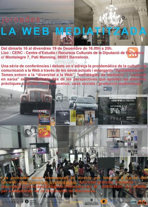 Jornades La web mediatitzada